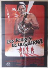 Dogs of War, Spanish Movie Poster, Christopher Walken, Tom Berenger, '80